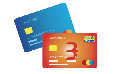 ATM and Pastel Cards